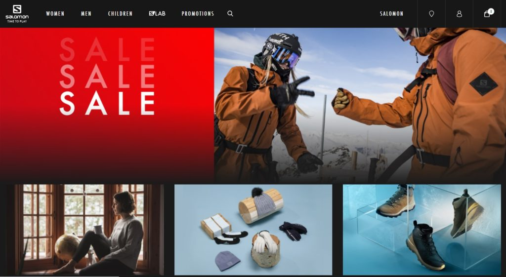 E-commerce-home-page-example